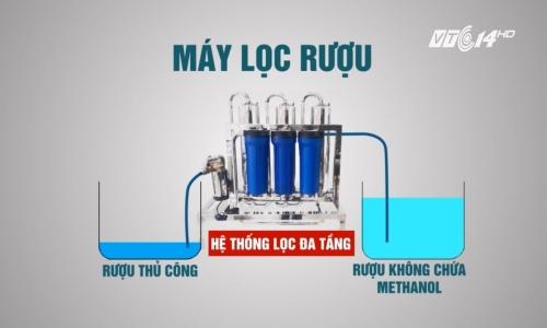 Phân phối các loại máy lọc rượu cao cấp giá siêu rẻ tại Bình Định